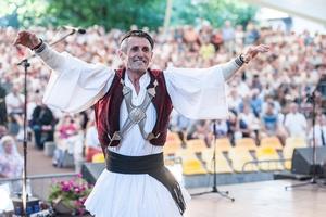 Hiszpański zespół Calabruix z Llucmajor, 54. TKB (2017), fot. Waldemar Kompała/www.kocurzonka.pl. (Plik .JPG)